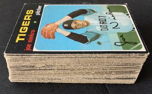 1971 O Pee Chee Topps Baseball Cards Set of 56 Different Cards for Sale in Brea, CA