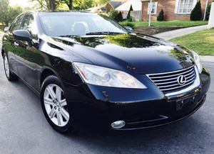 2009 Lexus ES 350 • NO ISSUES • Black Leather for Sale in Kensington, MD