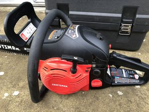 Craftsman Gas Chainsaw for Sale in Eugene, OR