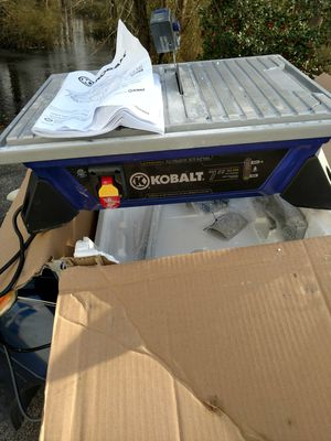 Kobalt TILE SAW for Sale in Fort Washington, MD