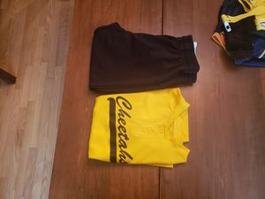 Baseball pants and cheetahs top. Youth size. for Sale in Tacoma, WA