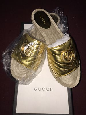 Gucci Leather Espadrille Sandal for Sale in Seattle, WA