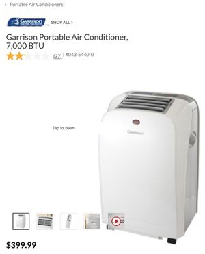 Garrison 7,000btu Portable AC for Sale in Union, NJ