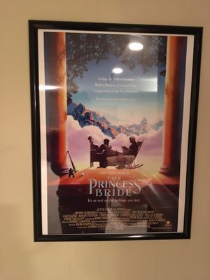 Princess Bride movie poster for Sale in Rockville, MD