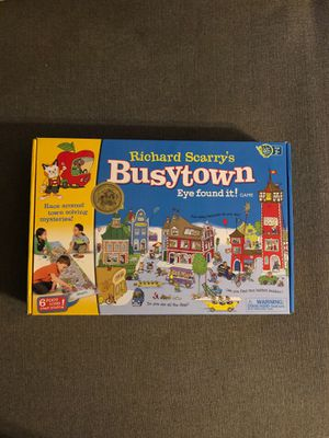 Richard Scarry's Busy Town Eye Found It! for Sale in Kissimmee, FL