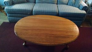 Solid wood coffee table for Sale in Shinnston, WV
