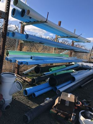 PVC green pipe all sizes and blue for Sale in Lodi, CA