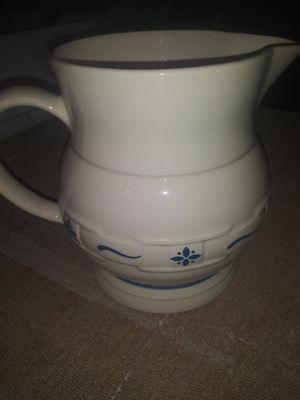 Vintage Longaberger 64 oz. Milk pitcher for Sale in Akron, OH