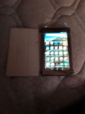Amazon kindle fire7 wifi with infiland case for Sale in Bartow, FL