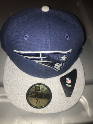 New England patriots 59 fifty 7 3/8 fitted hat NWT for Sale in Colorado Springs, CO
