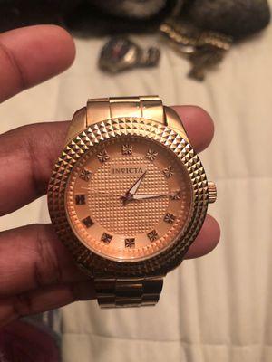 Rose Gold Invicta Watch for Sale in Richmond, VA