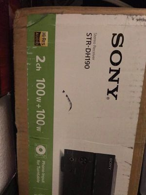 Sony Stereo Receiver for Sale in Milpitas, CA