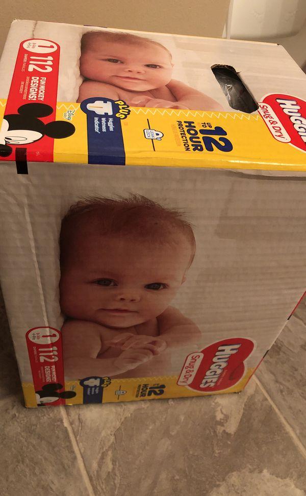 Huggies diapers size1