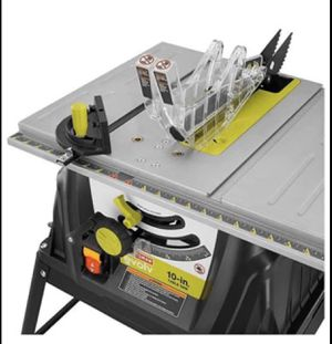 Craftsman Evolv 15 Amp 10 In. Table Saw for Sale in Kissimmee, FL