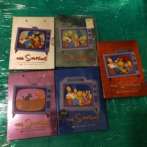 Simpson's dvds for Sale in Gilbert, AZ