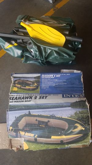 Sea hawk inflatable boat for Sale in Inglewood, CA