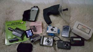 Camera digital grab bag plus extras for Sale in Los Angeles, CA