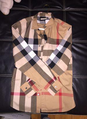 Long Sleeve Burberry Shirt (L) for Sale in Alexandria, VA
