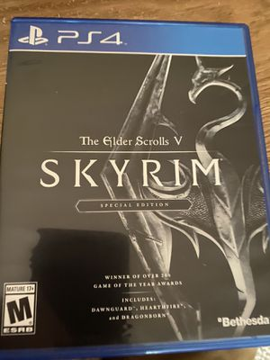 Skyrim special edition for Sale in Boxford, MA