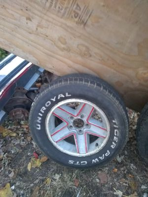 1 15 inch Chevy Camaro iroc wheel tires is decent for Sale in St. Louis, MO