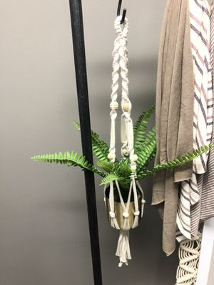 Macrame plant hanger $9 Each for Sale in Los Angeles, CA