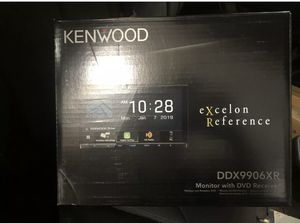 KENWOOD DDX9906XR DVD BLUETOOTH WIRELESS APPLE CAR PLAY ANDROID AUTO for Sale in Pomona, CA
