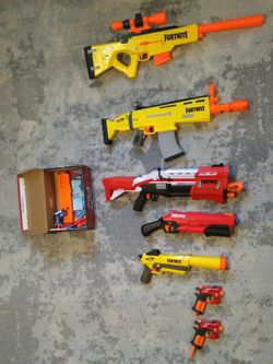 Good Quality Nerf Gun Bundle for Sale in Vancouver,  WA