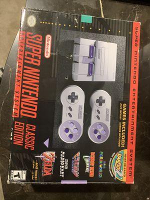Super Nintendo classic edition. for Sale in Lake Elsinore, CA