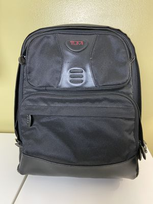 Tumi T2 Backpack Black Laptop Files 7 in x 13 in x 17 in for Sale in Des Plaines, IL