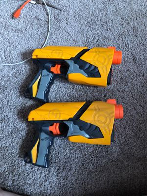 Two single bullet NERF guns for Sale in Manteca, CA