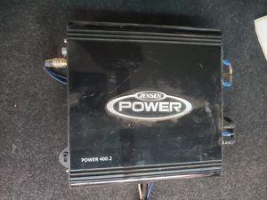 Jensen power 400.2 Amplifier 2 channel for Sale in Phoenix, AZ