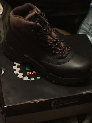 Safety work boots sz 11 DeadStock fresh buy now good for hiking 🥾 if u need clean fresh work boots 🥾 cop up now for Sale in San Diego, CA
