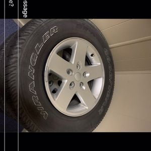 5 Jeep Wrangler Wheels and Tires for Sale in Lakeville, MA