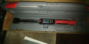 Half inch digital torque wrench for Sale in Fresno, CA