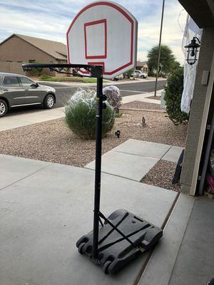 Adjustable basketball hoop for Sale in Sun City, AZ