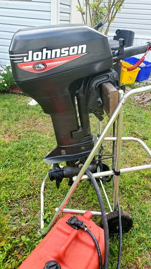 2006 Johnson 15 HP outboard motor - Excellent condition - Short shaft for Sale in Boynton Beach, FL