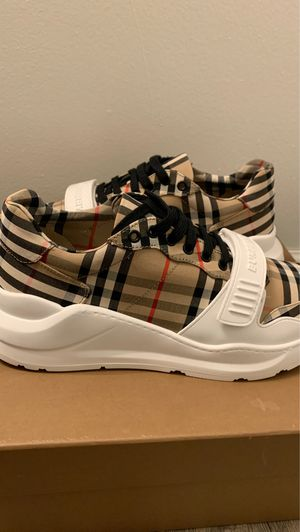 Burberry Sneakers Size 11 for Sale in Essex, MD