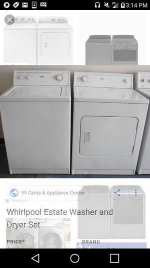 Whirlpool washer and dryer for Sale in Columbus, OH