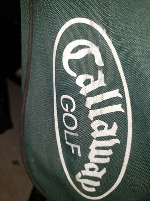 Callaway golf bag w clubs used good condition for Sale in Las Vegas, NV