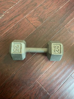 25 lb hex weight for Sale in Fort Worth, TX