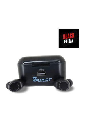 SHAMIOS TWS Wireless Bluetooth 5.0 Headphones, IPX6 Waterproof Touch Headphones in-Ear Sports Earphone for Sale in West New York, NJ