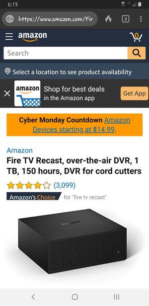 Amazon Fire TV Recast for Sale in Lincoln, NE