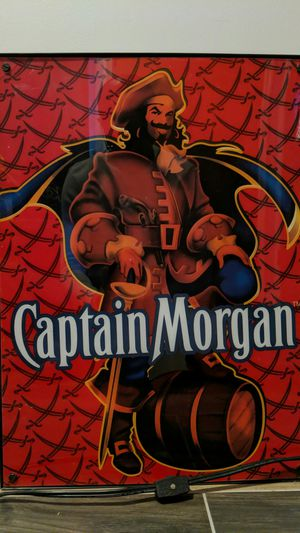 Captain Morgan Light Up Sign for Sale in West Covina, CA