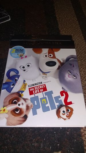 PETS 2 4K BRAND NEW SEALED NEVER OPENED ASKING FOR$14.00 for Sale in Phoenix, AZ