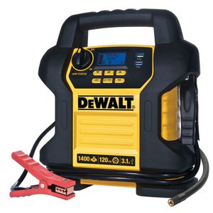 DEWALT 1400 Peak Amp Jump Starter with Digital Compressor for Sale in Phoenix, AZ