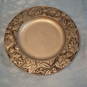 Longaberger 2001 Pewter Serving Plate Tray. Not Basket for Sale in Batavia, IL