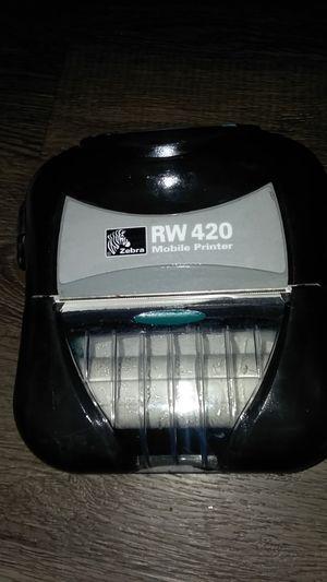 Zebra RW 420 mobile printer for Sale in Austin, TX