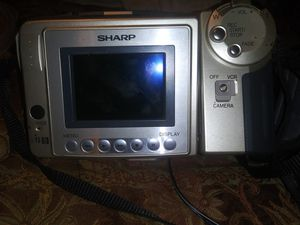 Sharp camera /video camera for Sale in Vero Beach, FL