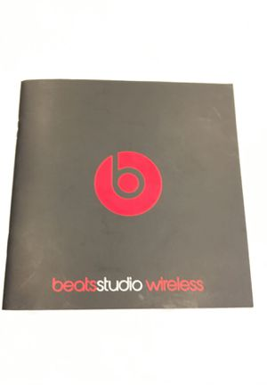 Beat studio wireless manual for Sale in Arvada, CO