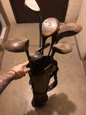 Golf Clubs and bag Vintage for Sale in Arlington, VA